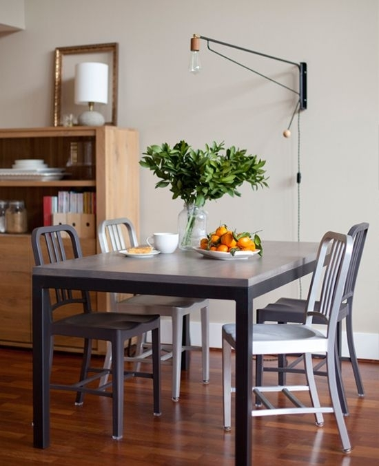 7 Creative Dining Room Lighting Ideas | Home Deco | Pinterest regarding Lamp Over Dining Tables