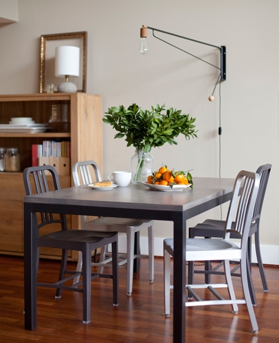 7 Creative Dining Room Lighting Ideas | My Paradissi pertaining to Lights for Dining Tables