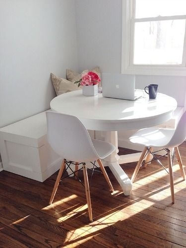 7 Genius Ways To Design A Small Space | Kitchen | Pinterest | Dining for Helms 5 Piece Round Dining Sets With Side Chairs