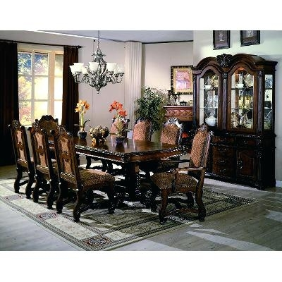 7 Piece Dining Set Silver 7 Piece Dining Set 7 Piece Counter Height Inside Partridge 7 Piece Dining Sets (Image 3 of 25)