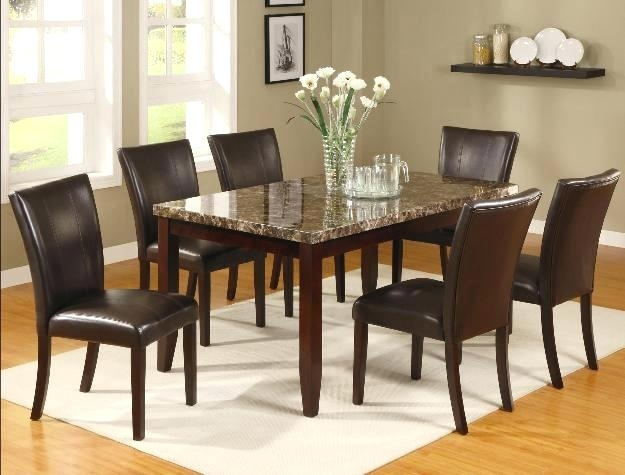 7 Piece Dining Set Silver 7 Piece Dining Set 7 Piece Counter Height Pertaining To Partridge 7 Piece Dining Sets (Image 4 of 25)