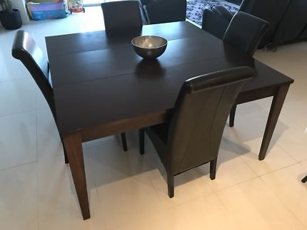 7 Piece Dining Setting | Dining Tables | Gumtree Australia Mount For Norwood 7 Piece Rectangle Extension Dining Sets (Image 4 of 25)
