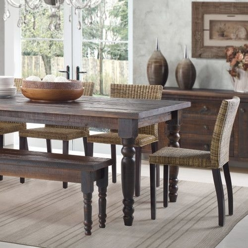 71 Best Dining/entryway Area Images On Pinterest | Door Entry pertaining to Palazzo 6 Piece Rectangle Dining Sets With Joss Side Chairs