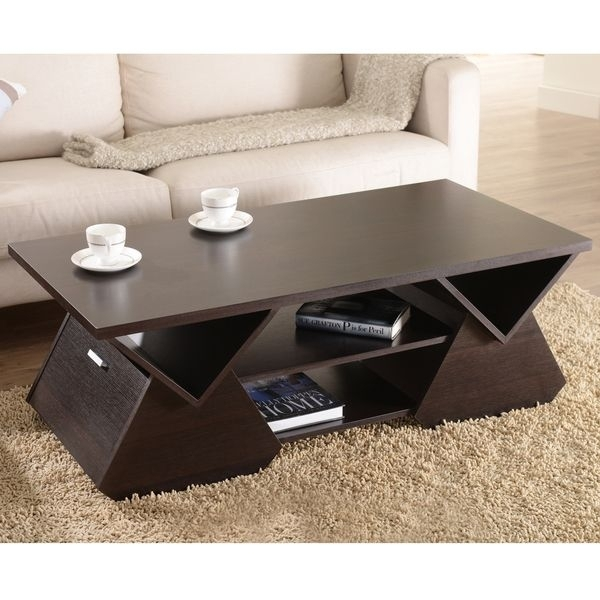 8 Baxton Studio Lindy Coffee Table Pics | Coffee Tables Ideas Inside Lindy Espresso Rectangle Dining Tables (Photo 4 of 25)