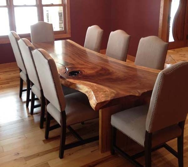 8 Best Art Tables Images On Pinterest | Couch Table, Dining Tables Intended For Tree Dining Tables (Image 3 of 25)
