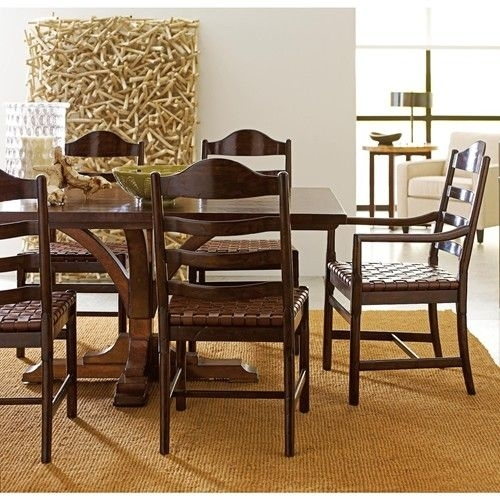 8 Best Dining Table Images On Pinterest   Dining Room, Dining Rooms Inside Combs 5 Piece 48 Inch Extension Dining Sets With Pearson White Chairs (Image 8 of 25)