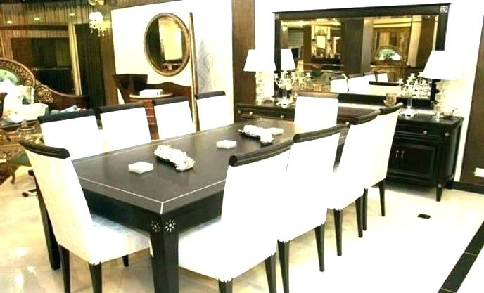 8 Chair Dining Room Set Oak Dining Table 8 Chairs Inspirational New Regarding 8 Chairs Dining Sets (Image 6 of 25)