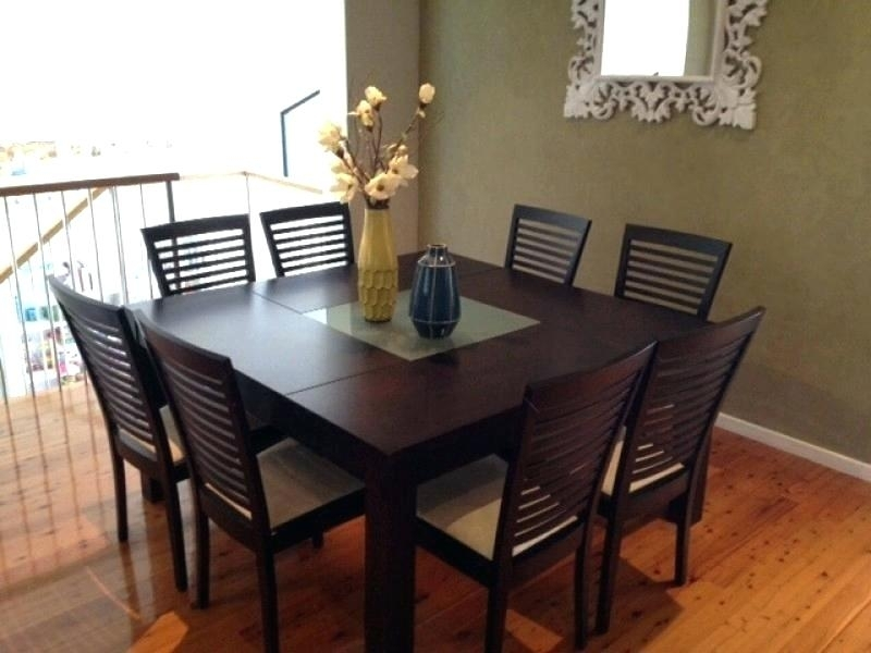 8 Chair Dining Room Set - Www.cheekybeaglestudios intended for Dining Tables and 8 Chairs Sets