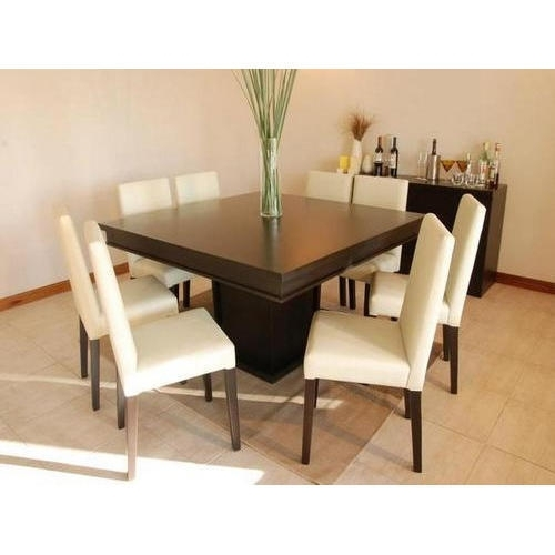 8 Chairs Dining Table Set At Rs 65000 /set | लकड़ी का regarding Dining Tables 8 Chairs Set