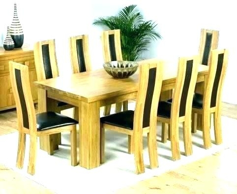 8 Dining Table And Chairs – Kuchniauani With Regard To 8 Seater Round Dining Table And Chairs (View 21 of 25)