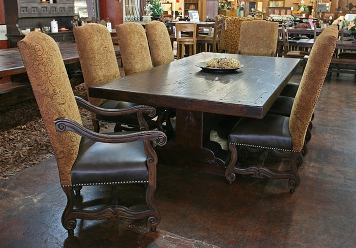 8. Lovely Rustic Dining Room Sets Rustic Furniture Sets Phoenix Regarding Phoenix Dining Tables (Photo 6 of 25)