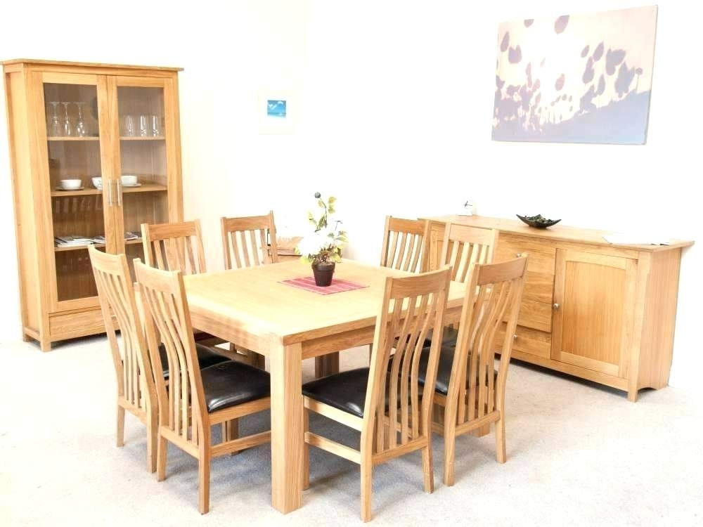 8 Seat Dining Room Set Rectangle Wood Dining Tables That Seat 6 For Pertaining To Dining Tables Seats  (Image 4 of 25)