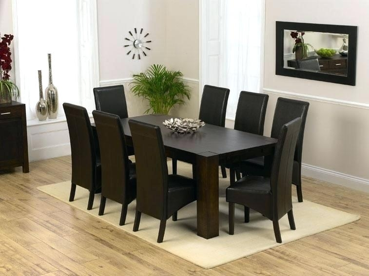 8 Seat Dining Room Table Sets – Castrophotos Regarding Dining Tables Set For  (Image 4 of 25)
