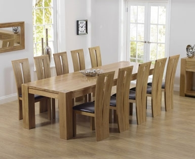 8+ Seat Dining Sets | Dining Room Furniture |First Furniture Intended For 8 Seat Dining Tables (View 24 of 25)