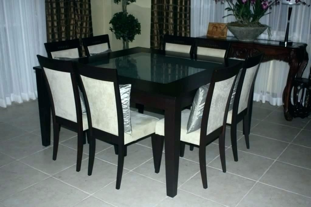 8 Seat Dining Table 8 Dining Table Chairs Chairs Flower Dining Room intended for 8 Seat Dining Tables