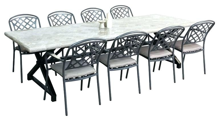 8 Seat Outdoor Dining Table 8 Seat Patio Dining Set 8 Seat Patio For 8 Seat Outdoor Dining Tables (Image 5 of 25)