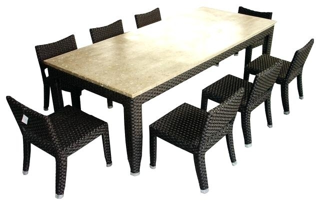 8 Seat Table – Sportsdaily.club with regard to 8 Seat Outdoor Dining Tables