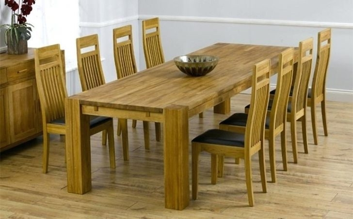 8 Seater Dining Room Table And Chairs Beautiful Box Grey Oak For For 8 Seater Dining Table Sets (Image 4 of 25)