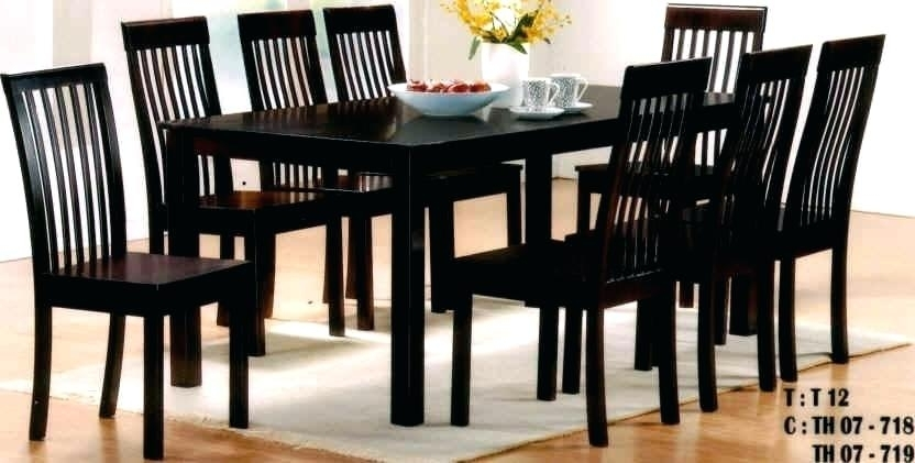 8 Seater Dining Set 8 Seater Dining Table Set Uk – Storiesdesk Within Black 8 Seater Dining Tables (Image 4 of 25)