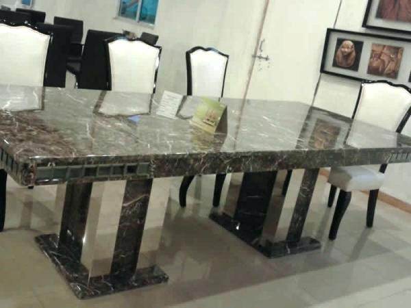 8 Seater Dining Table Marble 8 Dining Table Image Collections Dining Within 8 Seater Dining Table Sets (Image 5 of 25)