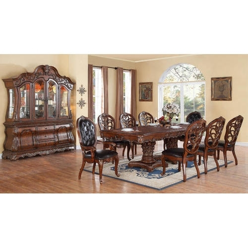 8 Seater Dining Table Set At Rs 135000 /set | Dining Table Set For Dining Tables For  (Image 4 of 25)