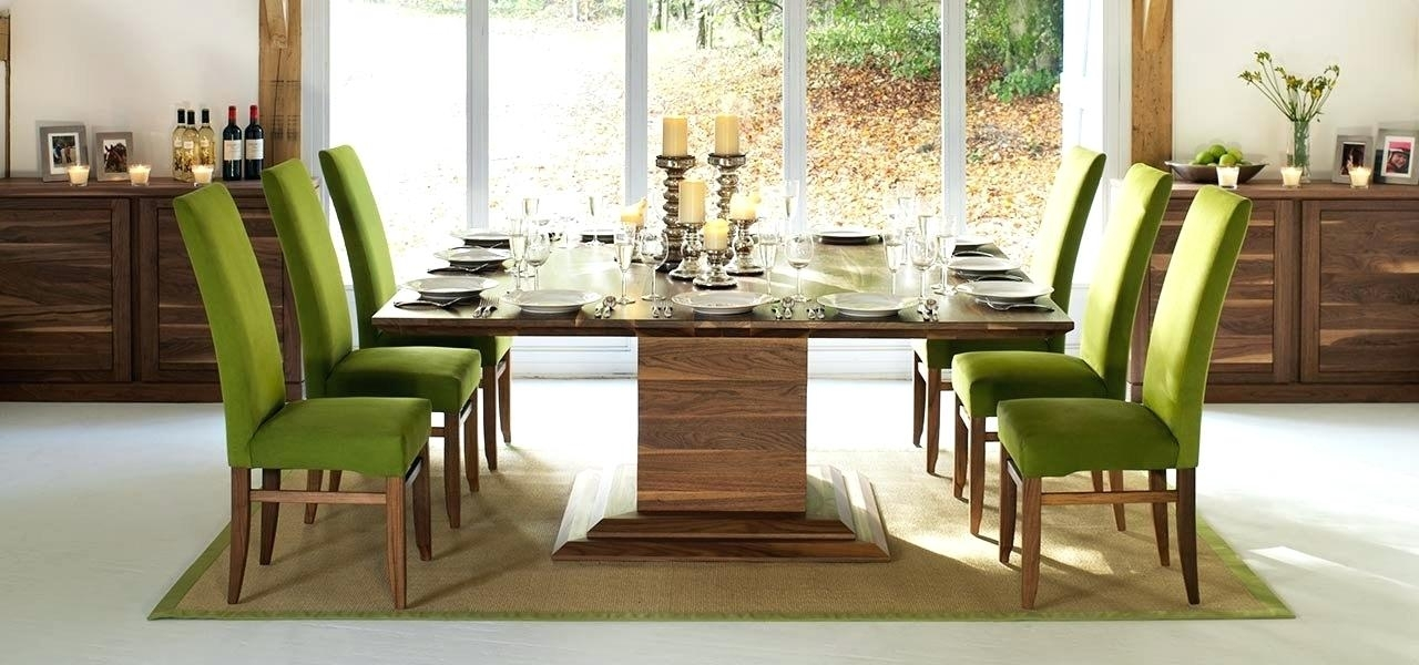 8 Seater Dining Table Square Dining Tables In Solid Oak Walnut with 8 Seater Oak Dining Tables