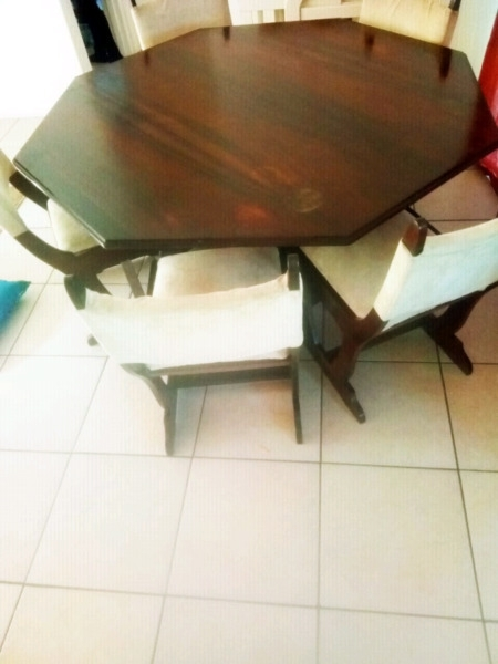 8 Seater Dining Table With Chairs | Parklands | Gumtree Classifieds In Cheap 8 Seater Dining Tables (Image 9 of 25)