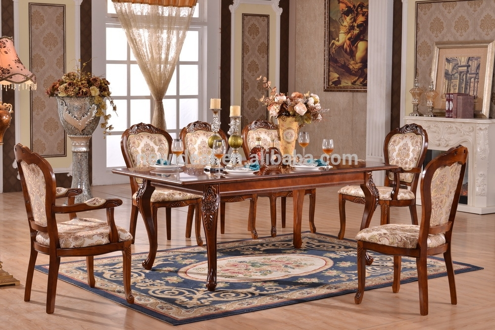 8 Seater Extendable Dining Table Set Modern (Ng2882 & Ng2635A For 8 Seater Dining Tables (Image 10 of 25)