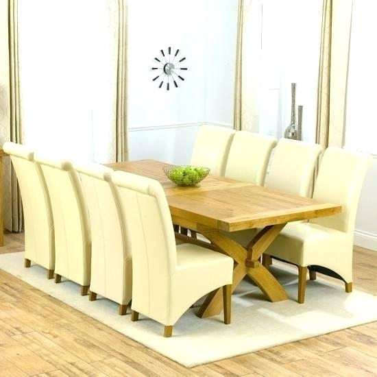 8 Seater Table And Chairs 8 Dining Table Set 8 Seater Dining Table With Oak Dining Tables And 8 Chairs (Image 3 of 25)