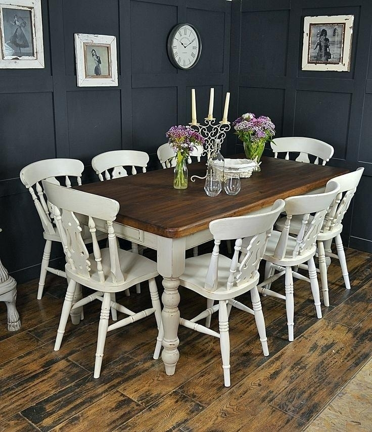 8 Seating Dining Set 8 Seat Dining Room Set Dining Table And Chairs Intended For 8 Seat Dining Tables (Photo 21 of 25)