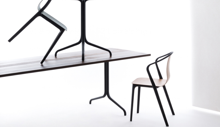 8 Sleek Dining Tables And Chairs - Azure Magazine regarding Sleek Dining Tables