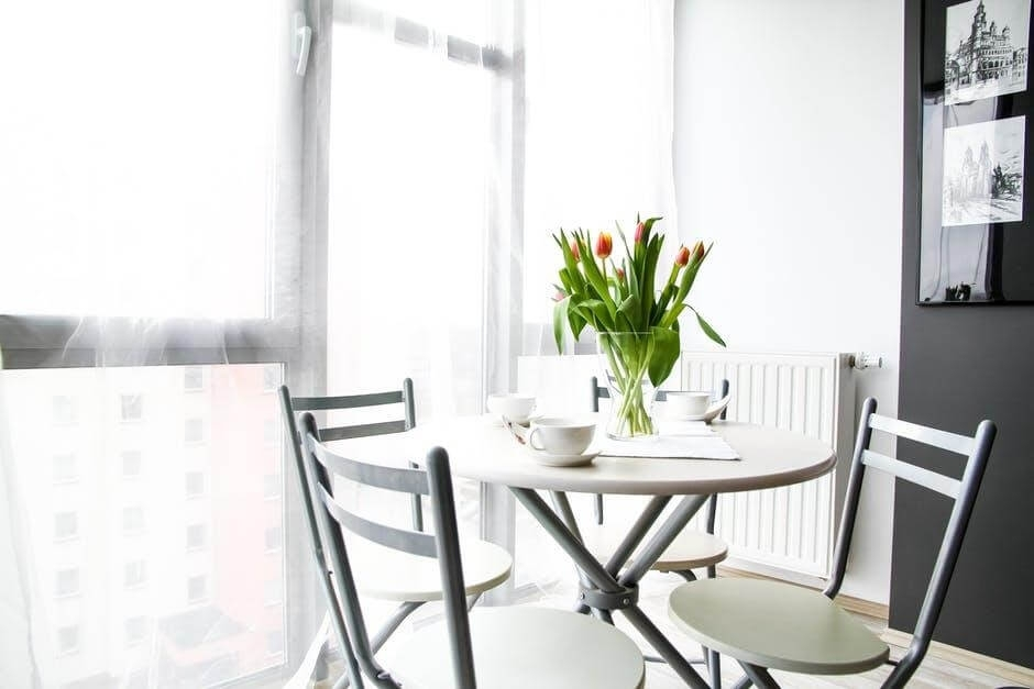 8 Terrific Small Dining Tables For 2018 Intended For Small Round White Dining Tables (Image 1 of 25)