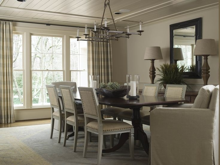 9 Best Dining Room Images On Pinterest | Dining Rooms, Dining Room Regarding Chapleau Ii 9 Piece Extension Dining Table Sets (Image 2 of 25)