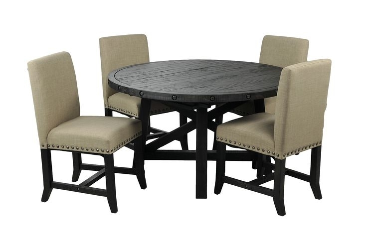9 Best Dining Room Images On Pinterest | Dining Rooms, Dining Room With Jaxon 5 Piece Round Dining Sets With Upholstered Chairs (Image 5 of 25)