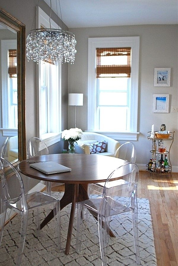 9 Best Stühle Images On Pinterest | Dining Room, Side Chairs And Inside Round Acrylic Dining Tables (Image 2 of 25)
