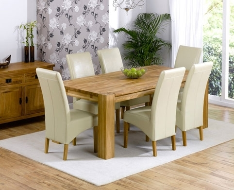 9. Cream Dining Room Sets in Cream Dining Tables and Chairs