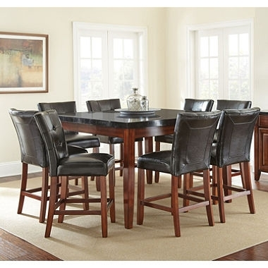 9. High Top Dining Table With 8 Chairs within 8 Chairs Dining Sets