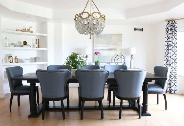 9 Modern Wingback Dining Chairs – Making It Lovely Within Dining Room Chairs (Image 2 of 25)