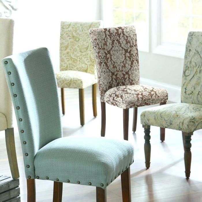9. Padded Dining Room Chairs Padded Dining Room Chairs Ideas Only On Inside Dining Room Chairs Only (Photo 6 of 25)
