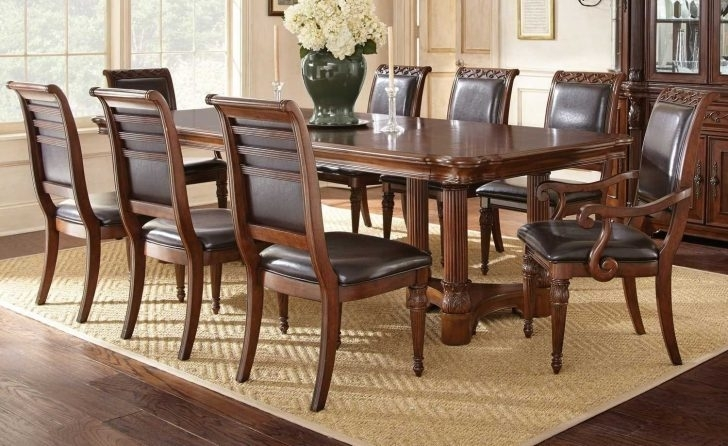 9 Piece Dining Room Set Photo Scscheels Schwab | Majoys Within Walden 9 Piece Extension Dining Sets (Image 2 of 25)