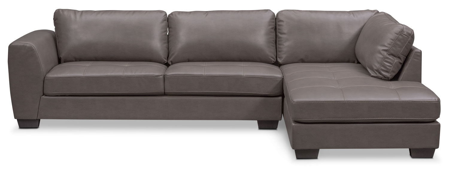 91+ 2 Pc Sofa Sectional With Chaise - Mcdade Graphite 2 Piece throughout Tatum Dark Grey 2 Piece Sectionals With Laf Chaise
