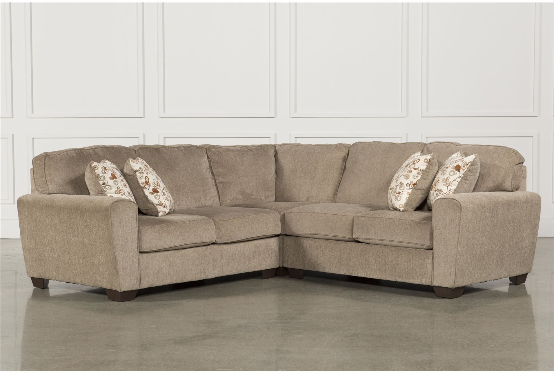 $920 Office – 105X105 Patola Park 3 Piece Sectional – 360 Living Pertaining To Elm Grande Ii 2 Piece Sectionals (Image 1 of 25)