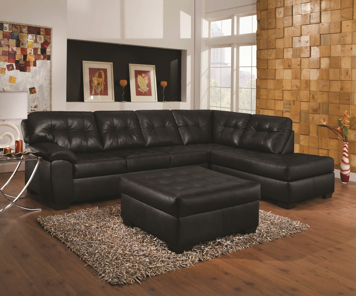 9569 Soho Onyx [9569 Soho Onyx] - $869 : All Things Delivered, Dfw with Evan 2 Piece Sectionals With Raf Chaise
