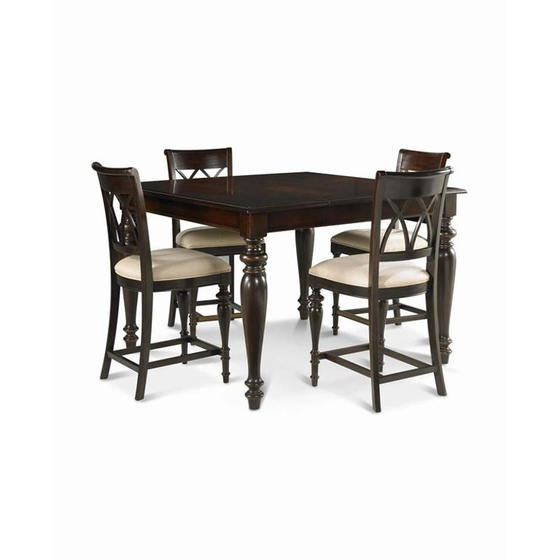 978242 Pulaski Furniture Bradford Dining Room Gathering Table inside Bradford Dining Tables