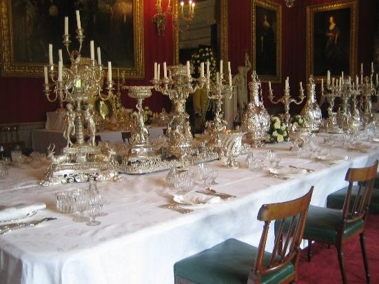 A Dining Table – Picture Of Chatsworth House, Bakewell – Tripadvisor Inside Chatsworth Dining Tables (Image 1 of 25)