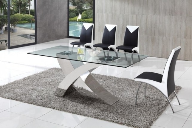 A Large 9 Piece Dining Set Is Ideal For Decorating Large Spaces In Walden 9 Piece Extension Dining Sets (Image 3 of 25)