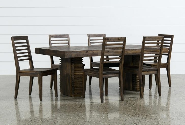 A Simplistic, Vintage Infused Amsterdam Living Space Avenue In Mallard 7 Piece Extension Dining Sets (View 21 of 25)