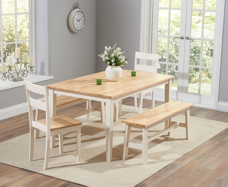 Abdabs Furniture – Chichester 150 Cm Dining Table With 2 Dining In Chichester Dining Tables (Image 4 of 25)