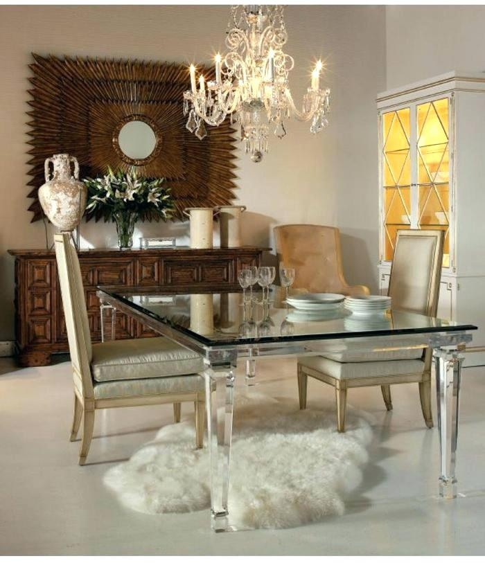 Acrylic Dining Room Table Acrylic Dining Room Table 2 Acrylic Dining Intended For Acrylic Dining Tables (Image 3 of 25)