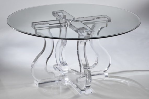 Acrylic Dining Sets | Acrylic Tables | Acrylic Chairs In Acrylic Dining Tables (Image 5 of 25)